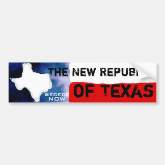 Texas Message Bumper Stickers