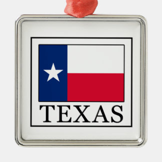Texas Metal Ornament