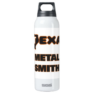 Texas Metal Smith 16 Oz Insulated SIGG Thermos Water Bottle
