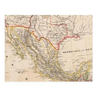 Texas, Mexico Postcard