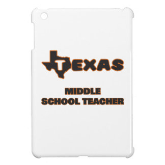 Texas Middle School Teacher iPad Mini Cases