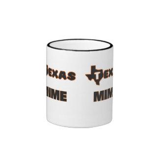 Texas Mime Ringer Coffee Mug