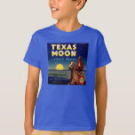 Texas Moon Citrus Fruit Crate Label T-Shirt