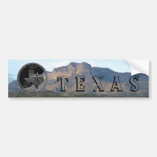 Texas Mountains Bumper Stickers