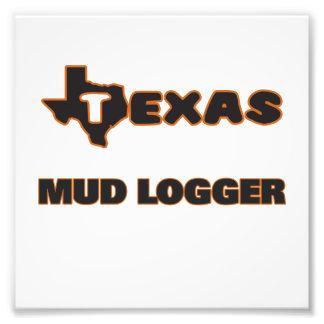 Texas Mud Logger Photo Print