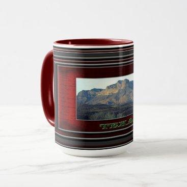 Beach Themed Texas Mug