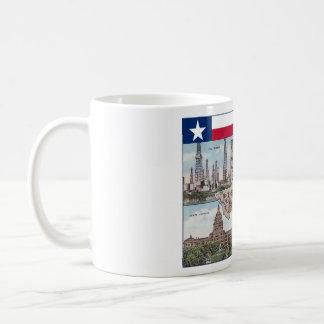 Texas mug - State map and views