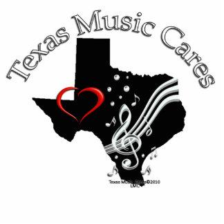 Texas Music Cares Logo Sculpture Photo Cut Outs