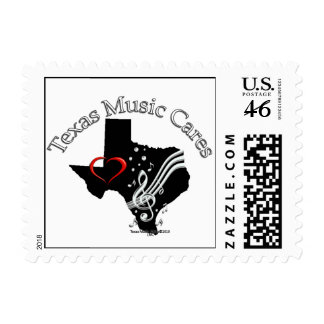 Texas Music Cares Small Stamps