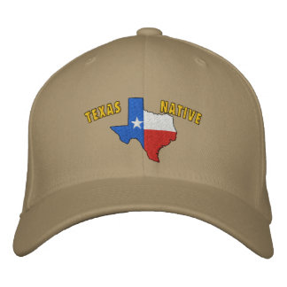 Texas Native Embroidered Hat