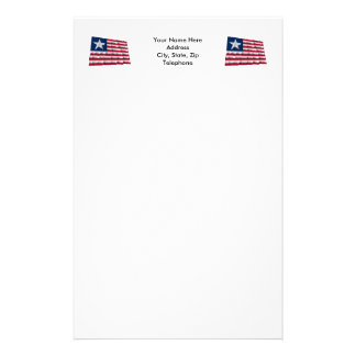 Texas Naval Ensign Stationery