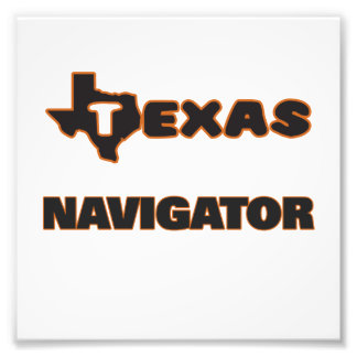 Texas Navigator Photo Print