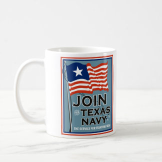 Texas Navy coffee mug