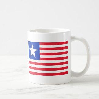 Texas Navy Flag Classic White Coffee Mug