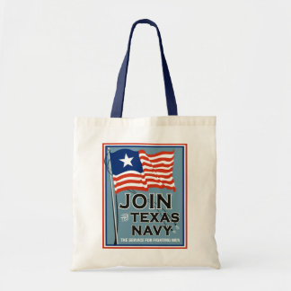 Texas Navy tote bag