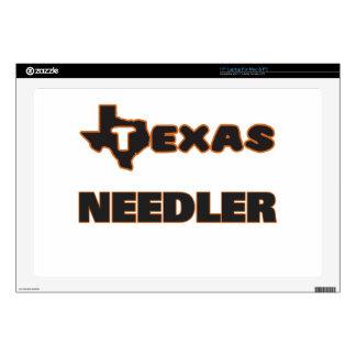 Texas Needler Decal For Laptop