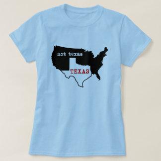 Texas / Not Texas Ladies Shirt