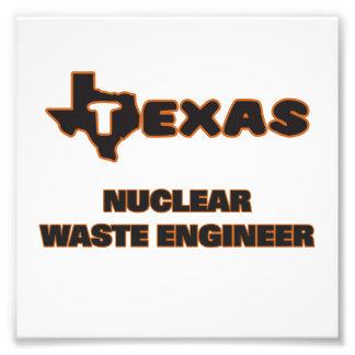 Texas Nuclear Waste Engineer Photo Print