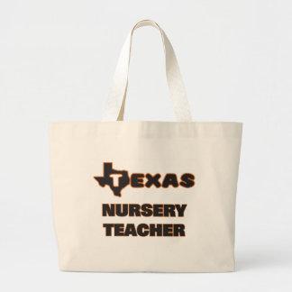Texas Nursery Teacher Jumbo Tote Bag
