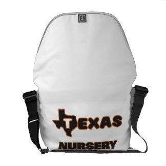 Texas Nursery Teacher Messenger Bags