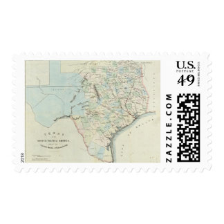 Texas of the United States of America Postage Stamp