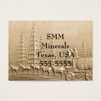 Texas Oil Business Card