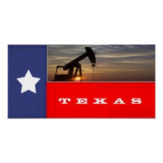 Texas oil poster