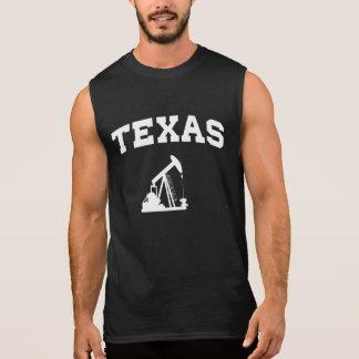 Texas Oil Pump Sleeveless Shirts