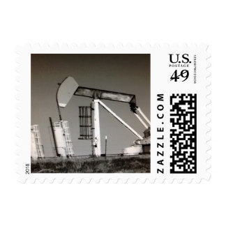 Texas Oil Well Postage