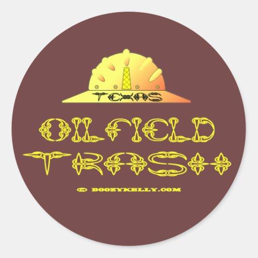 Texas Oilfield Trash, Sticker