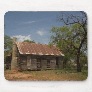 Texas old farm house mousepad