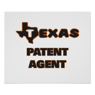 Texas Patent Agent Poster