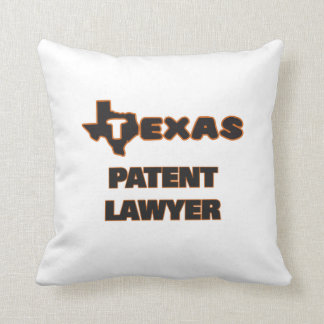 Texas Patent Lawyer Pillow