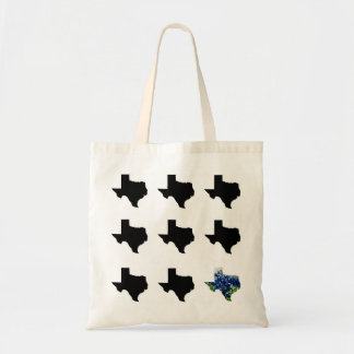 Texas Pattern with Bluebonnets Tote