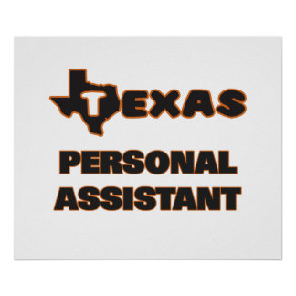 Texas Personal Assistant Poster