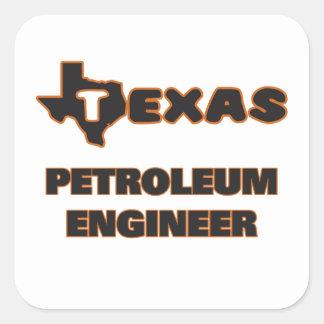 Texas Petroleum Engineer Square Sticker