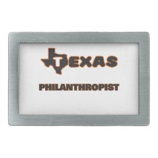 Texas Philanthropist Belt Buckle
