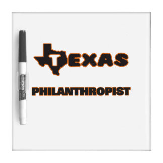 Texas Philanthropist Dry-Erase Boards