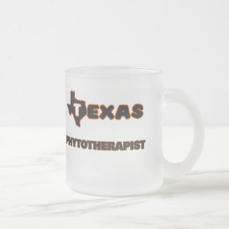 Texas Phytotherapist 10 Oz Frosted Glass Coffee Mug