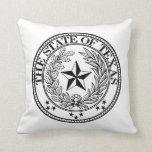 Texas Pillows Seal