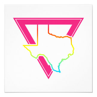 texas pink triangle card