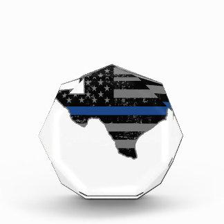 Texas Police & Law Enforcement Thin Blue Line Award