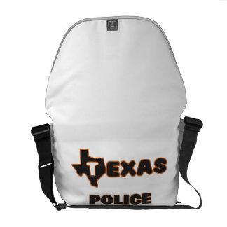 Texas Police Officer Messenger Bag
