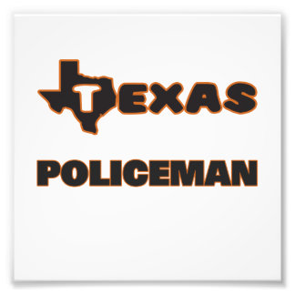 Texas Policeman Photo Print