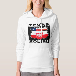 Texas Polish American Hooded Pullover