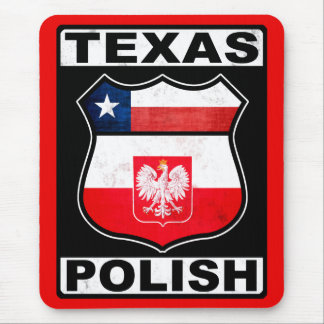 Texas Polish American Mouse Pad