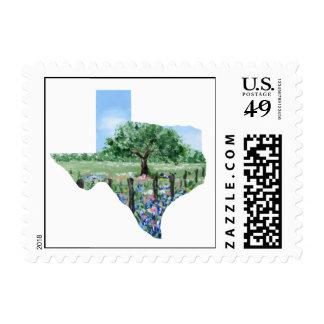 Texas Postage Stamp