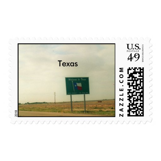 Texas Postage Stamps