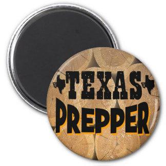 Texas Prepper 2 Inch Round Magnet