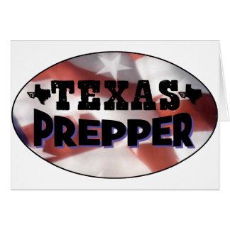 Texas Prepper Card